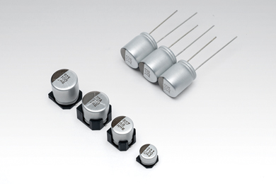 Conductive Polymer Hybrid Aluminum Electrolytic Capacitors